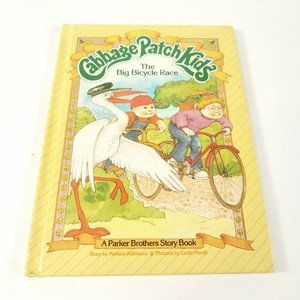 Cabbage Patch Kids Book The Big Bicycle Race 1984